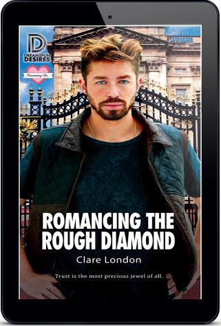 Clare London - Romancing The Rough Diamond 3d Cover erjn834