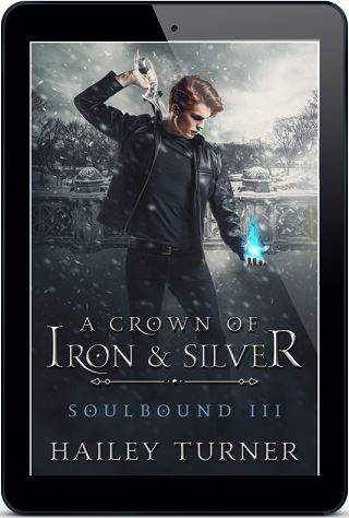 Hailey Turner - A Crown of Iron and Silver 3d Cover pqo930