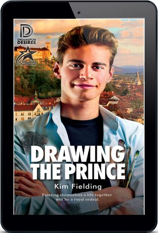 Kim Fielding - Drawing the Prince 3d Cover 2qb7d