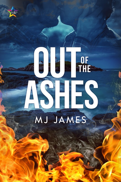 M.J. James - Out of the Ashes Cover wb839