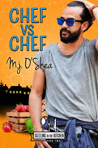M.J. O'Shea - Chef vs Chef Cover bhw93