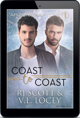 Coast to Coast by R.J. Scott & V.L. Locey Blog Tour & Giveaway!