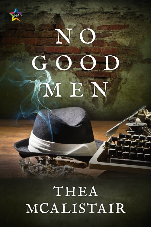 Thea McAlistair - No Good Men Cover ve839