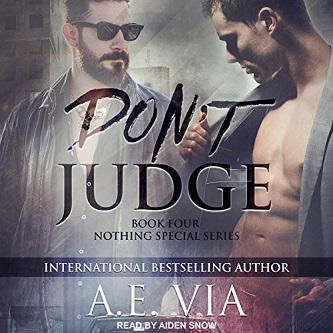 A.E. Via - Don't Judge Audio Cover s en3784uj