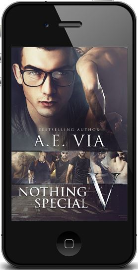 Nothing Special V by A.E. Via Audio Tour, Excerpt & Giveaway!