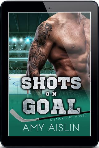 Shots on Goal by Amy Aislin Cover Reveal, Excerpt & Giveaway!