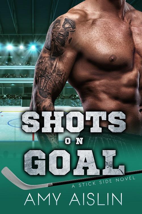 Amy Aislin - Shots on Goal Cover 45jged