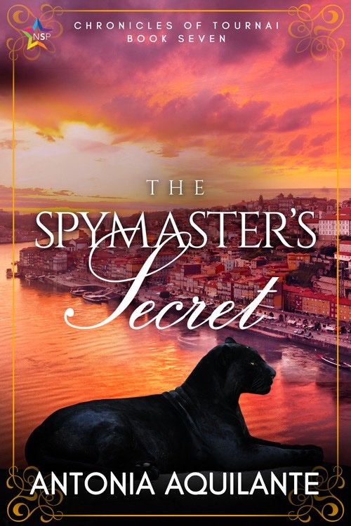 Antonia Aquilante - The Spymaster's Secret Cover trmn495
