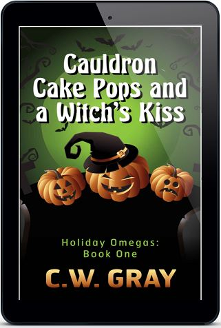 Cauldron Cake Pops and a Witch's Kiss by C.W. Gray