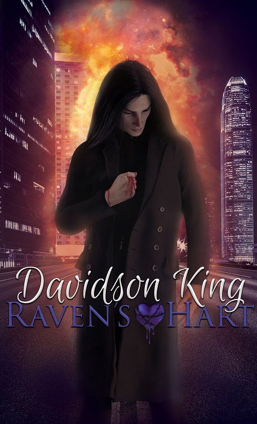 Davidson King - Raven's Hart Cover ebfh734