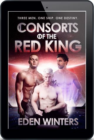 Consorts of the Red King by Eden Winters Release Blast & Excerpt!