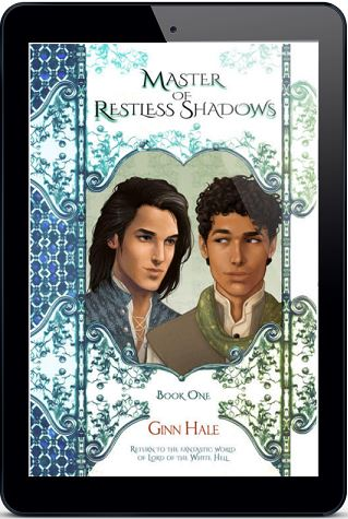Ginn Hale - Master of Restless Shadows 3d Cover rtem659