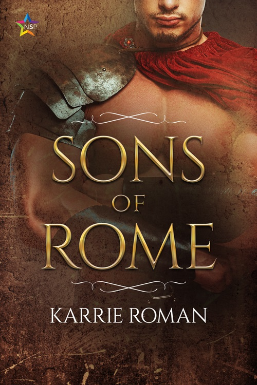 Karrie Roman - Sons of Rome Cover mej374