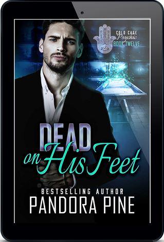 Pandora Pine - Dead On His Feet 3d Cover 784jfh