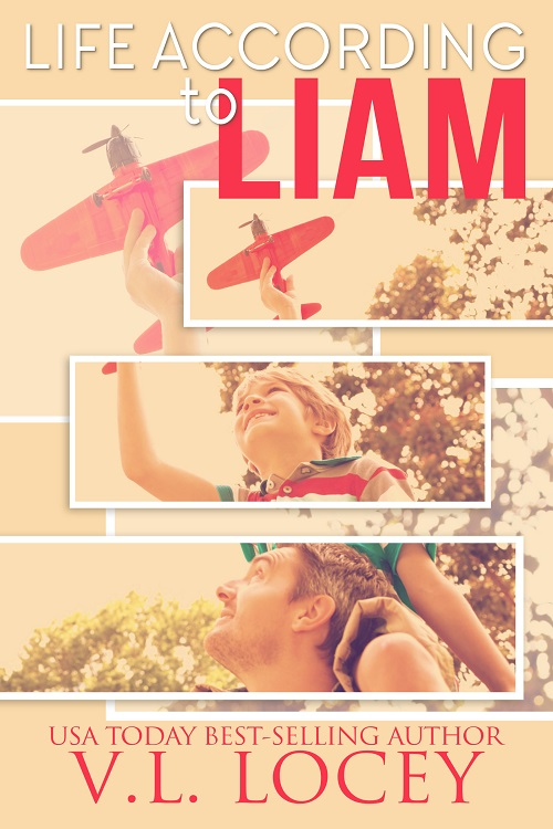 V.L. Locey - Life According To Liam Cover asb723j