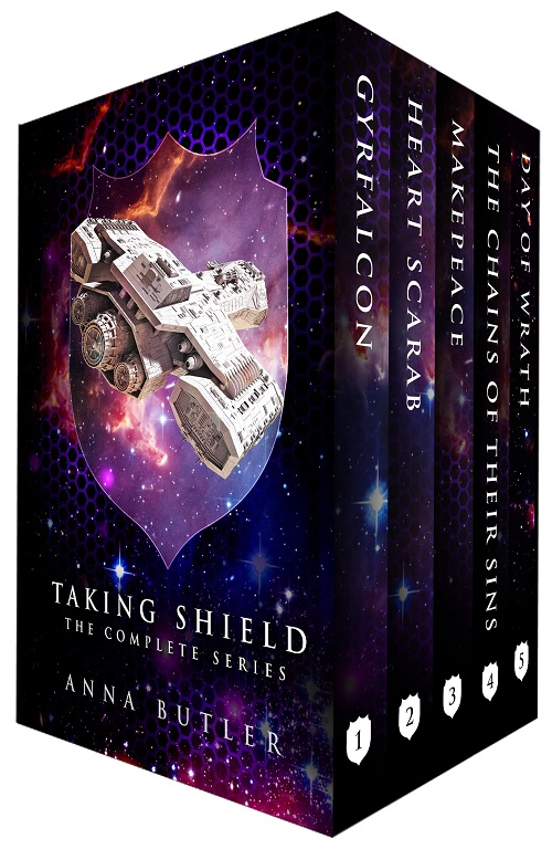Anna Butler - Taking Shield Boxset Cover dfh74h