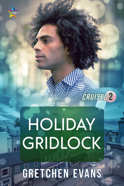 Gretchen Evans - Holiday Gridlock Cover mgj74c