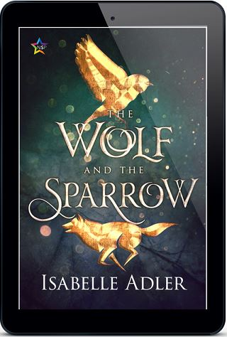 Isabelle Adler - The Wolf and the Sparrow 3d Cover kmacs8i