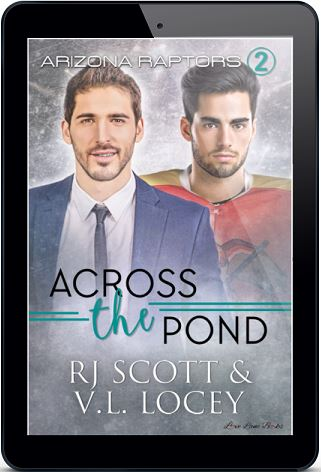 Across The Pond by R.J. Scott & V.L. Locey Blog Tour & Giveaway!