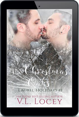 The Christmas Oaks by V.L. Locey Cover Reveal & Giveaway!