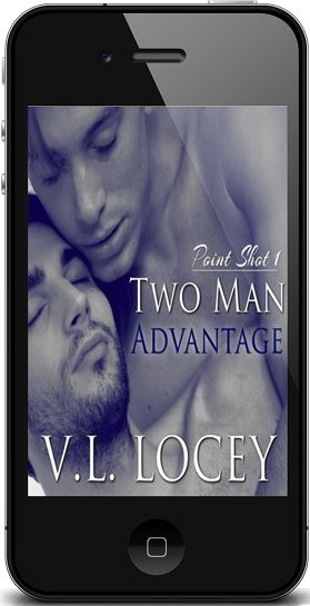 Two Man Advantage by V.L. Locey Audio Blast & Giveaway!