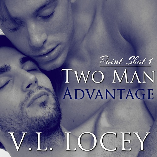 V.L. Locey - Two Man Advantage Audio Cover sdnhr47