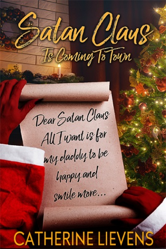Catherine Lievens - Satan Claus is Coming to Town Cover nsb63b
