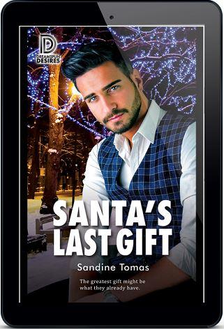 Santa's Last Gift by Sandine Tomas Release Blast, Excerpt & Giveaway!