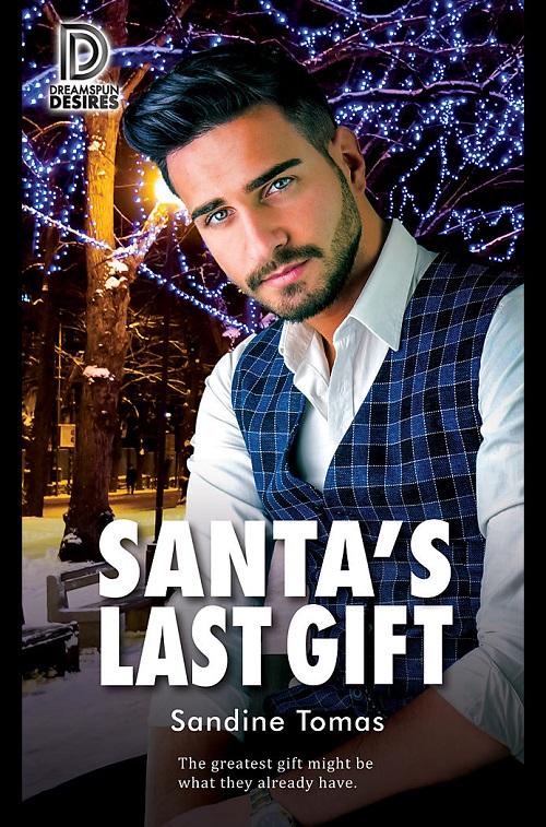 Sandine Tomas - Santa's Last Gift Cover tnfc8sk