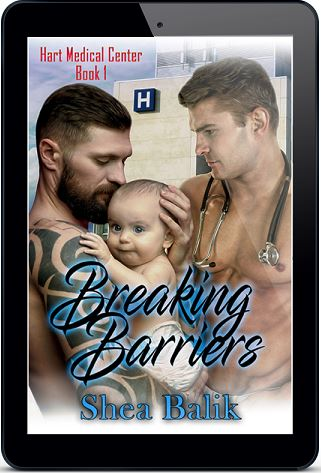 Breaking Barriers by Shea Balik Cover Reveal & Giveaway!
