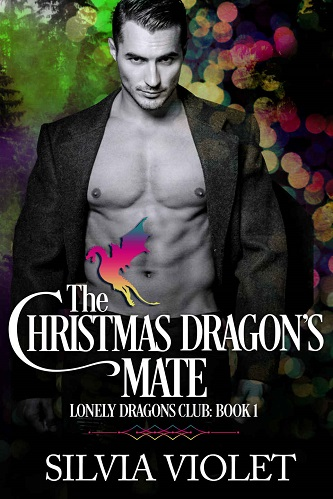 Silvia Violet - The Christmas Dragon's Mate Cover uivn7fh