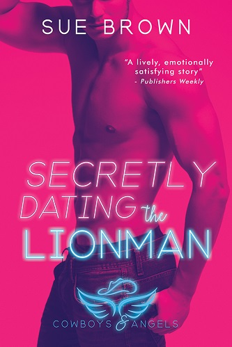 Sue Brown - Secretly Dating the Lionman Cover 6ewyht2