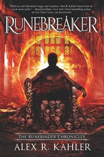 Alex R. Kahler - Runebreaker Cover 745hjdc