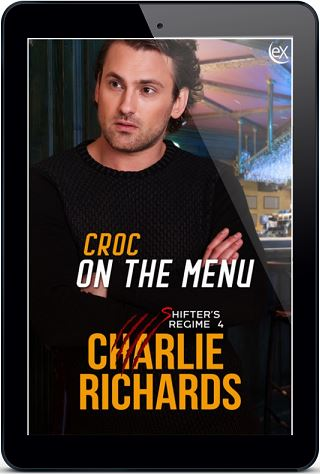Charlie Richards - Croc On The Menu 3d Cover 4378hbp