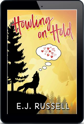 E.J. Russell - Howling on Hold 3d Cover ndb64h 1