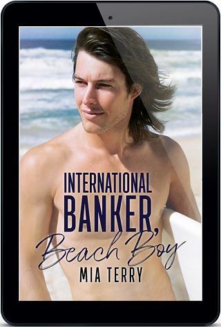 International Banker, Beach Boy by Mia Terry Release Blast & Excerpt!