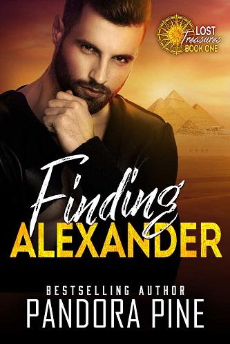 Pandora Pine - Finding Alexander Cover nsd78