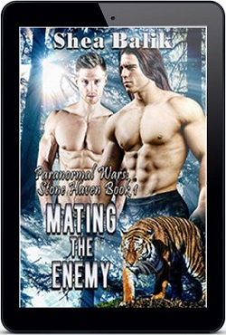 Shea Balik - Mating the Enemy 3d Cover Ad