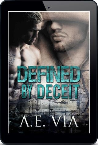 Defined by Deceit by A.E. Via Book Blast, Excerpt & Giveaway!