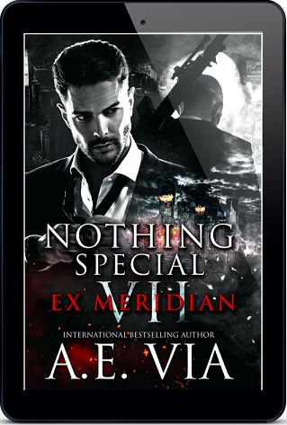 EX Meridian by A.E. Via Release Blast, Excerpt & Giveaway!