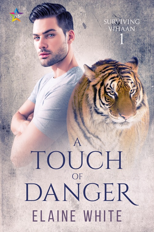 Elaine White - A Touch of Danger Cover 340d,cm