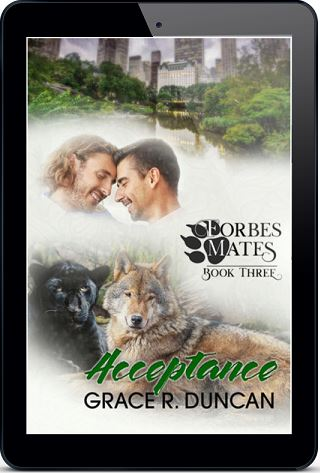 Acceptance by Grace R. Duncan Forbes Mates Blog Tour, Excerpt & Giveaway!