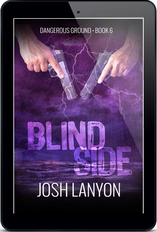 Josh Lanyon - Blind Side 3d Cover ty48j