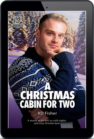 A Christmas Cabin for Two by K.D. Fisher