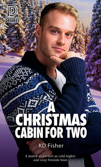 K.D. Fisher - A Christmas Cabin For Two Cover 2347yhd