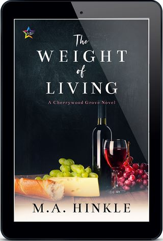 M.A. Hinkle - The Weight of Living 3d Cover 7wehdci