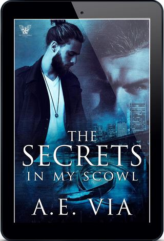 Secrets in My Scowl by A.E. Via Blog Tour, Excerpt, Review & Giveaway!