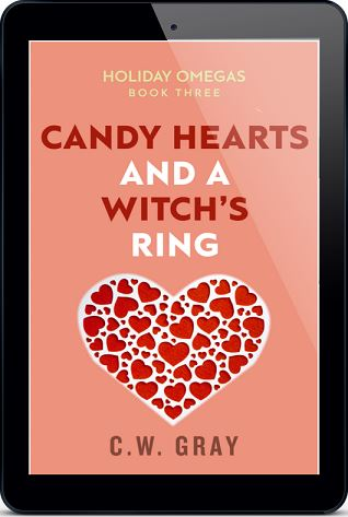 Candy Hearts and a Witch's Ring by C.W. Gray