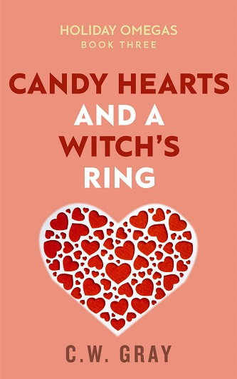 C.W. Gray - Candy Hearts and a Witch's Ring Cover dn7wsi