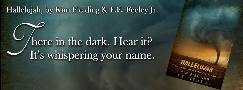 Kim Fielding & F.E. Feeley - Hallelujah BANNER2
